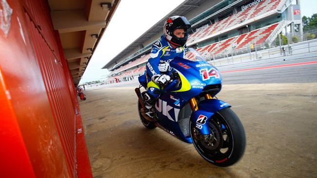 I team di Moto2 in pista con Suzuki e Ducati