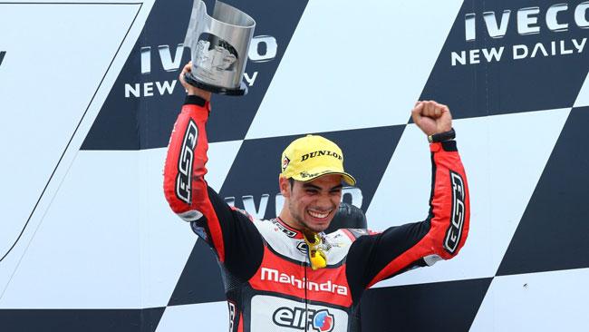 Oliveira soddisfatto del primo podio stagionale
