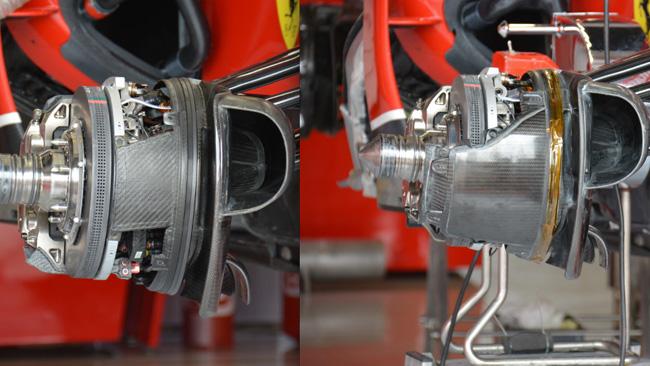 Ferrari: ci sono freni diversi per Fernando e Kimi