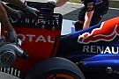 Red Bull: grande soffiaggio sulla paratia dell'ala dietro