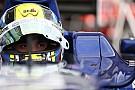 Julian Leal ai test di Silverstone con la Caterham