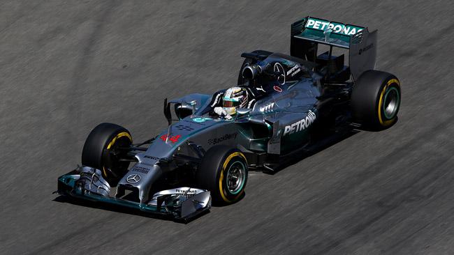 Il duo Mercedes fatica un po' senza il FRIC