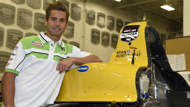 Alvaro Bautista visita la factory della Andretti Autosport