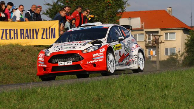 Tomáš Kostka sceglie la Ford Fiesta R5 per Zlín