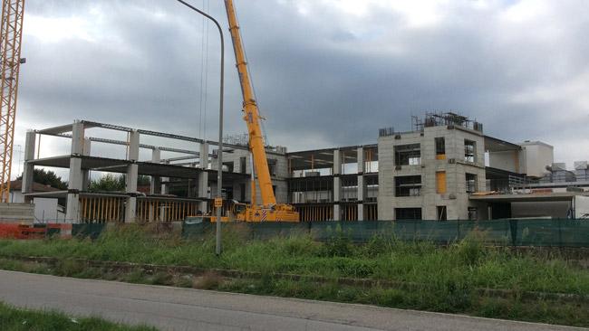 Due operai feriti nel cantiere Toro Rosso a Faenza