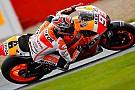 Silverstone, Libere 3: Marquez cade ma resta davanti