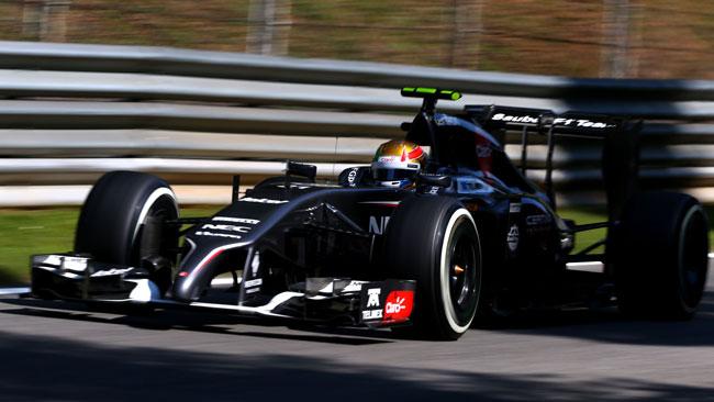 Gutierrez penalizzato per il contatto con Grosjean