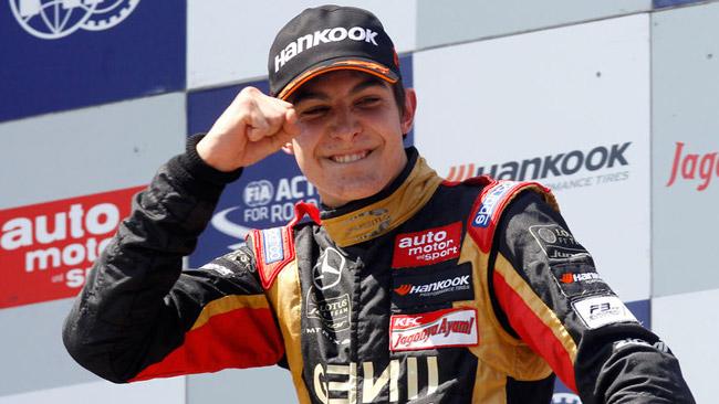 Esteban Ocon debutta all'Hungaroring con la Comtec