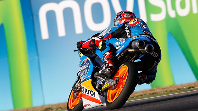 Alex Rins firma la pole position ad Aragon