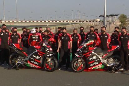 MotoGP 2021: Aprilia zeigt neue Farben und bestätigt Lorenzo Savadori