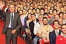 Montezemolo saluta i dipendenti a Maranello
