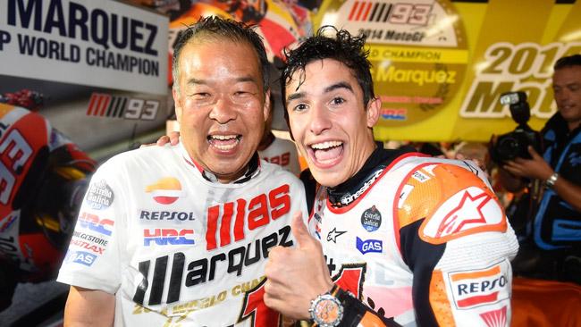 Nakamoto e Suppo esaltano il trionfo di Marquez