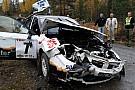 Petter Kristiansen illeso in un brutto incidente