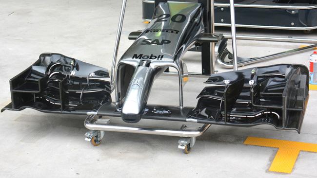 McLaren: promosso il muso con il gozzo