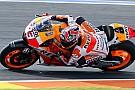 Valencia, Libere 3: Marquez scivola, ma svetta ancora
