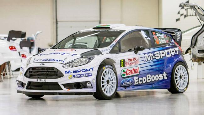 Ecco la nuova livrea delle Fiesta WRC della M-Sport