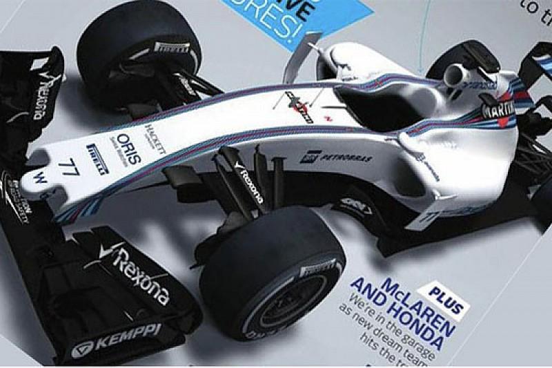 Ecco la prima immagine della Williams FW37