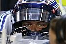 La Williams FW37 debutta con Valtteri Bottas