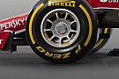 Ferrari: la pinza dei freni anteriori quasi orizzontale