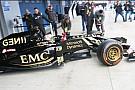 Maldonado ha portato al debutto la Lotus E23 Hybrid