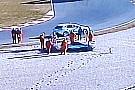 Rosberg si insabbia alla curva 5: bandiera rossa