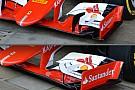 Ferrari: è nuovo l'alettone anteriore della SF15-T