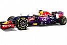 C'è più viola nella livrea 2015 della Red Bull