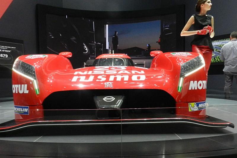 Nissan GT-R LM a Le Mans con l'ibrido meccanico!