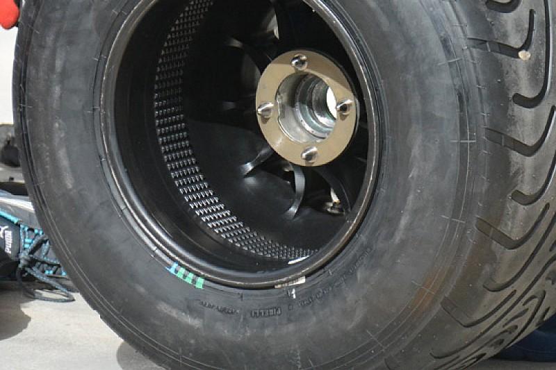 Williams: vorticatori di flusso nel cerchio posteriore