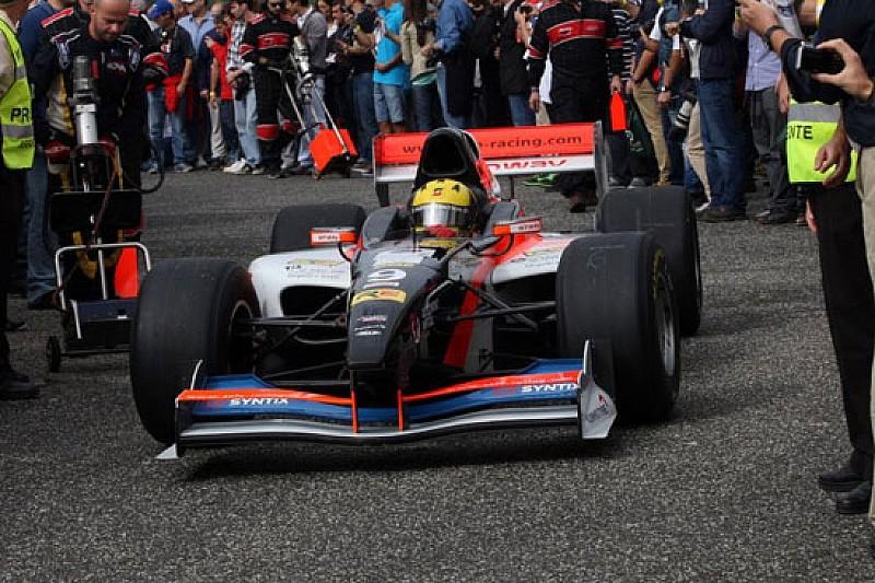 Luis Sa Silva con la Zele Racing a Budapest