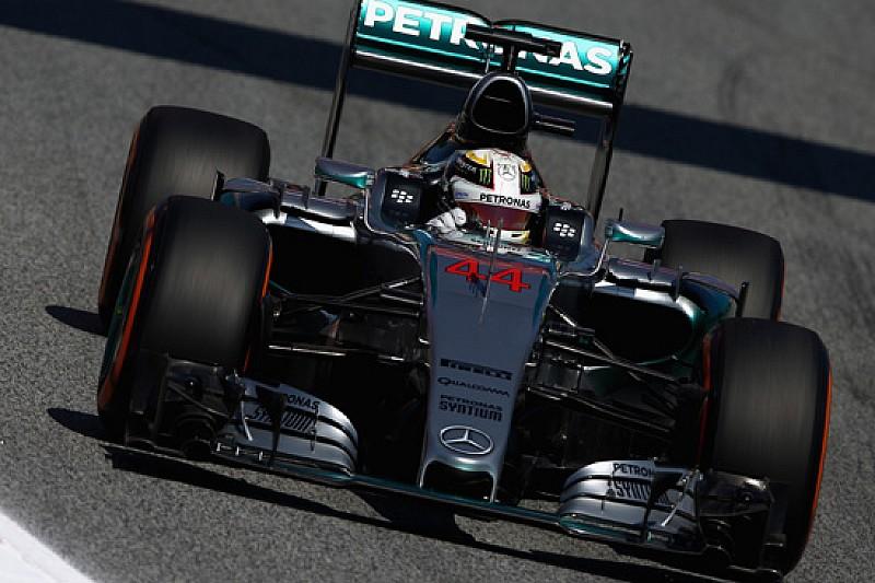 Barcellona, Libere 2: dietro a Hamilton c'è la Ferrari