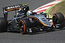 Force India: test a Barcellona con Wehrlein e Yelloly