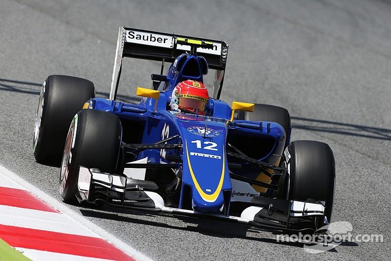 Nasr admits lack of downforce holding Sauber back