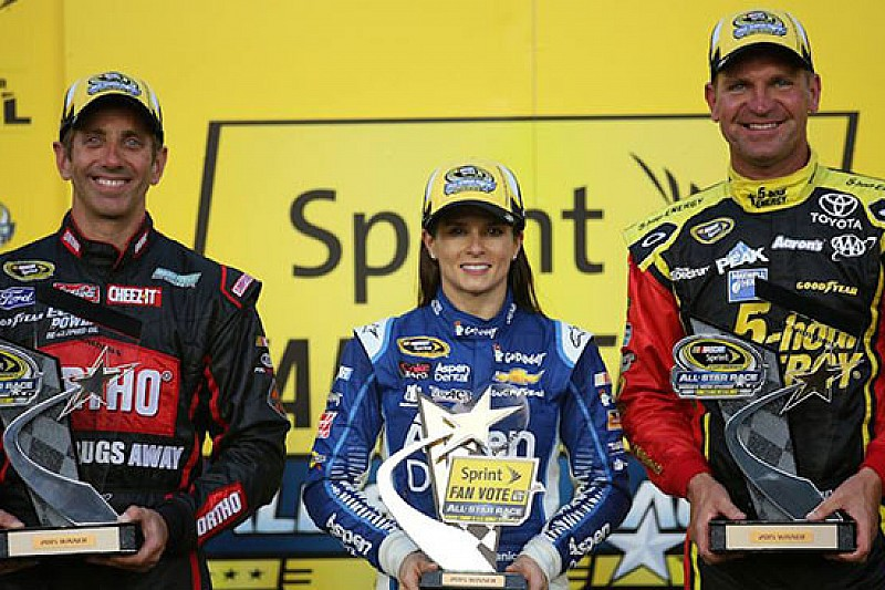 Biffle, Bowyer e Patrick alla NASCAR All Star Race