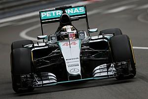 Fórmula 1 Crónica de Clasificación Hamilton está satisfecho con su pole en Mónaco