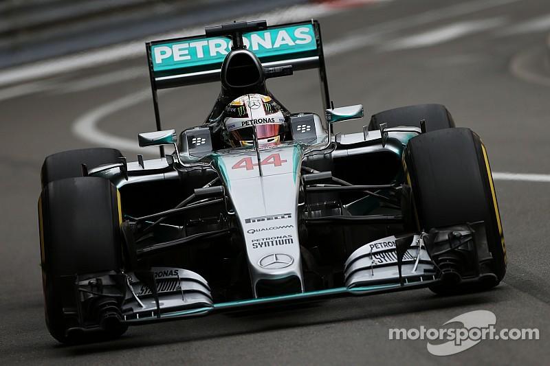 Hamilton está satisfecho con su pole en Mónaco