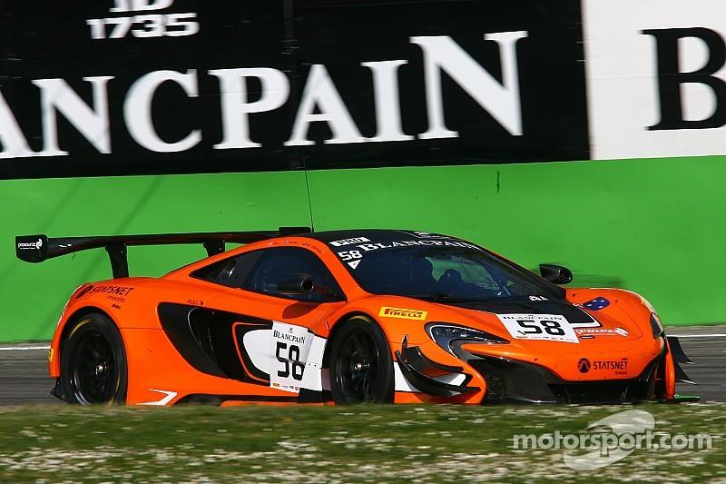 Экипаж на McLaren победил в Сильверстоуне