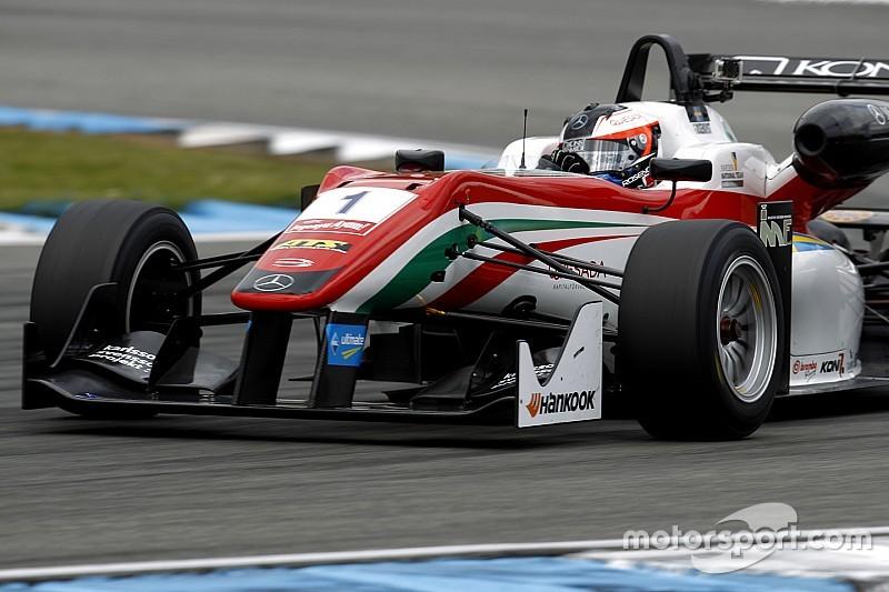 Rosenqvist wins Prema battle for pole in Monza opener