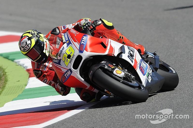 Ianonne leva a pole em Mugello, Marquez ficou no Q1