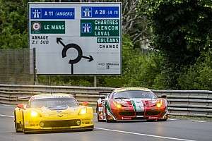 Le Mans Testing report Corvette Racing at Le Mans: Plenty of work – and rain – on Test Day