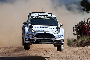 WRC Preview M-Sport look to capitalize on the Italian Isle