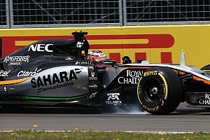 Формула 1 Пресс-релиз В Force India варьировали уровень прижимной силы