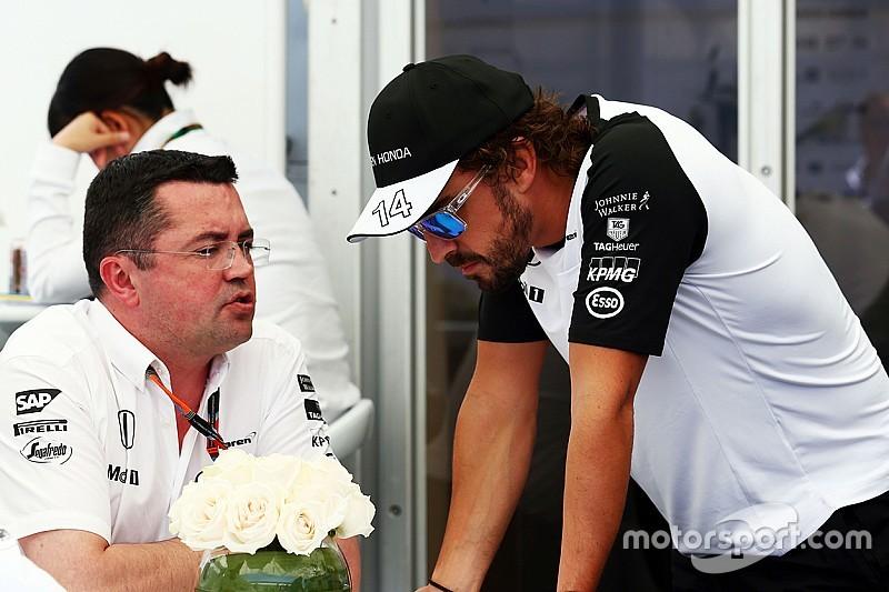 McLaren insists no risk of  Alonso meltdown