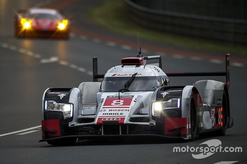 Pilotos de Audi, los más activos en Le Mans