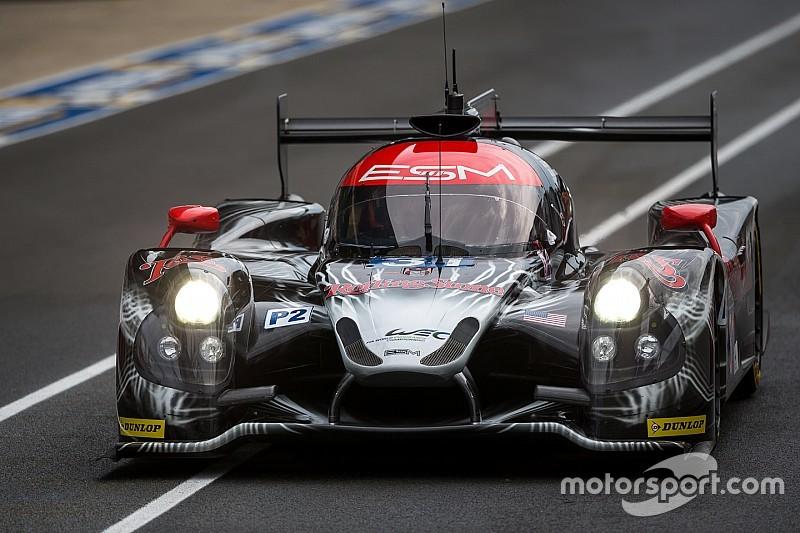 ESM logs first competitive laps at Le Mans