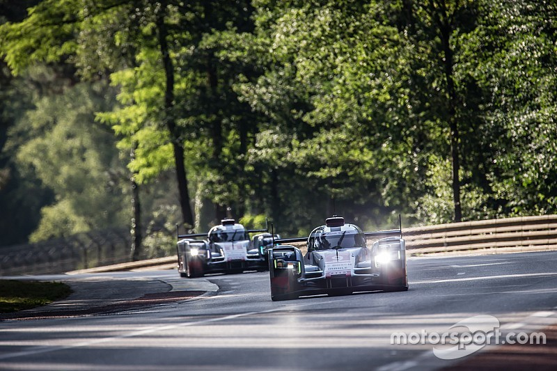 Audi 1-2-3 in morning warm-up
