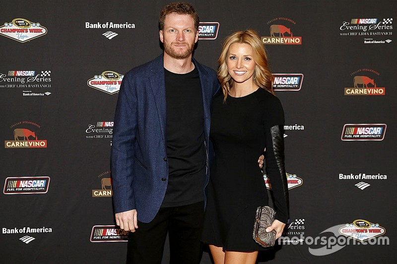 Dale Earnhardt Jr. pops the question