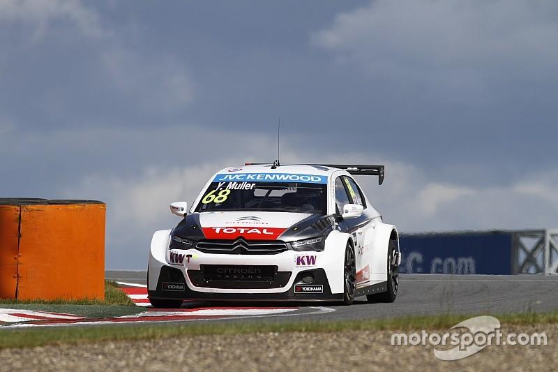 Muller lidera el trío de Citroën en Eslovaquia