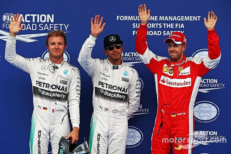 Lewis Hamilton suma su pole 45