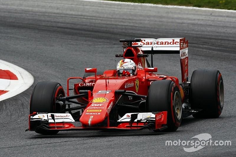"""Vettel admite que los Mercedes son """"demasiado rápidos"""""""
